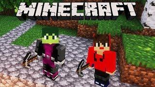 Minecraft: DUPLA SURVIVAL - A PESSOA MISTERIOSA APARECEU!!! #02
