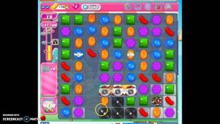 Candy Crush Level 1343 help w/audio tips, hints, tricks