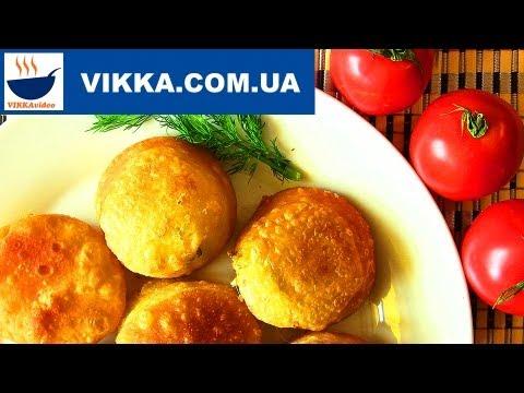 Пирожки «Бомбочки»:Пирожки жареные без дрожжей рецепт   VIKKAvideo