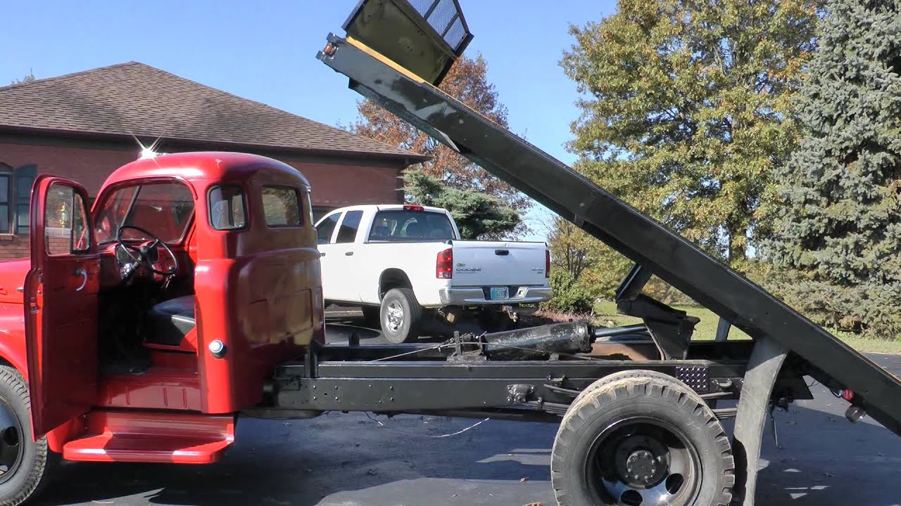 Ford Dump Truck Parts Job Rated Dodge 1.5 ton flatbed truck - YouTube
