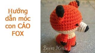 HOW TO CROCHET CUTE FOX