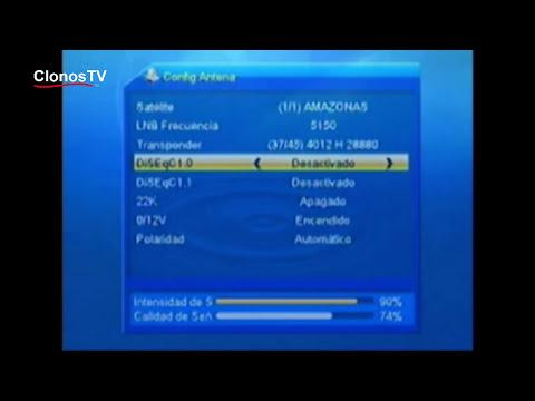 Instalacion del LNB en la antena y su cofiguración. HD