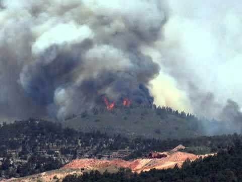 COLORADO WILDFIRES, 2012