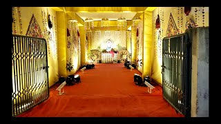 Indian Traditional Wedding l My cousin's grand wedding traditional decoration