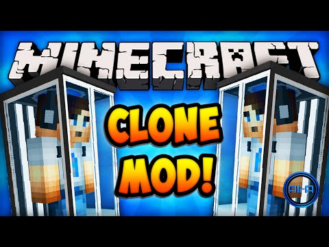 Minecraft Mods - CLONE MACHINE (EXTRA LIVES)! - Minecraft Mod Review