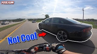 Arrogant Audi Driver | Where is Carl the KTM?