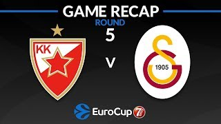 Highlights: Crvena Zvezda mts Belgrade - Galatasaray Istanbul