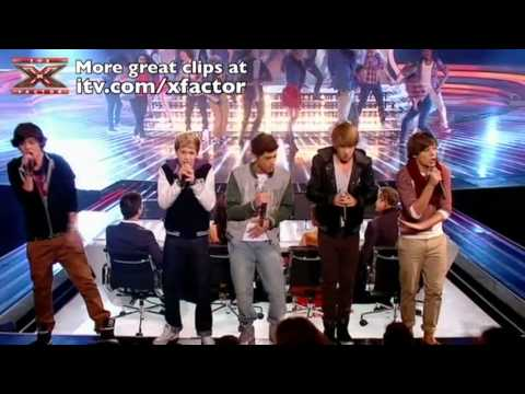 One Direction sing Summer of '69 - The X Factor Live show 8 - itv.com/xfactor