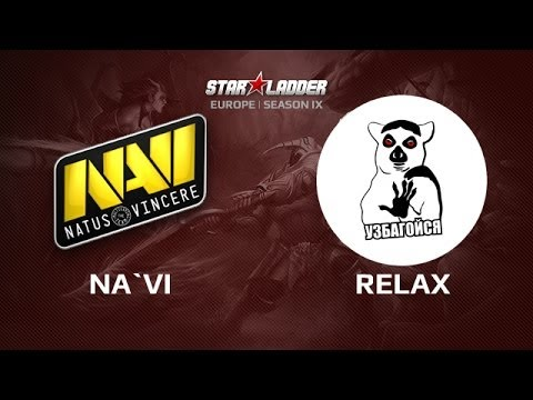 Na`Vi vs Relax, Star Series Europe Day 5 Game 1