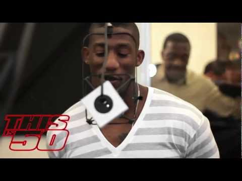 "ANTREL ROLLE OF THE NY GIANTS ON THIS IS 50 RADIO W/ MAYA THE B & ""THE HYNAKEN"""
