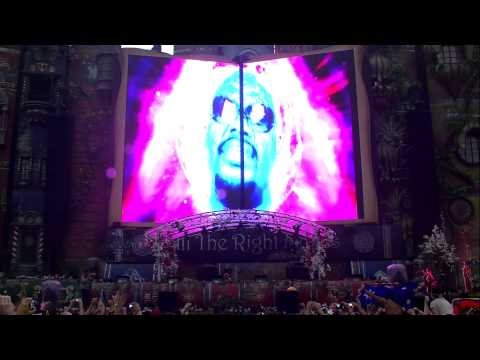 Fatboy Slim at Tomorrowland 2012