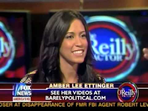 Obama Girl on Bill O Reilly Show
