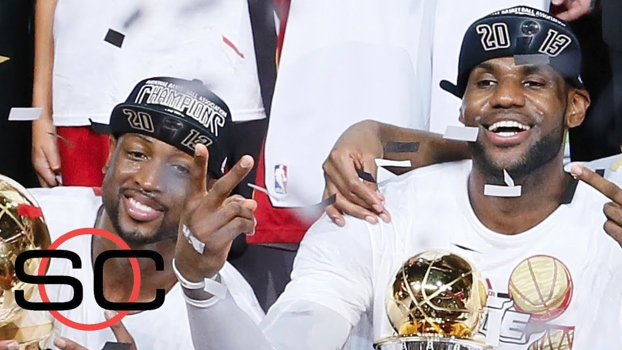 LeBron James and Dwyane Wade are teammates again   ESPN