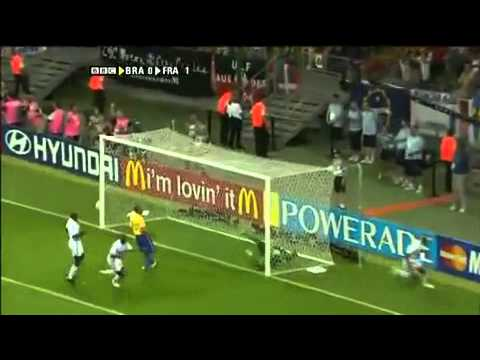 France 1 - 0 Brazil - World Cup 2006