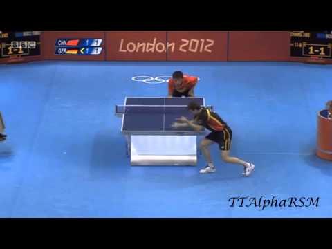 Olympic Games 2012: Timo Boll - Zhang Jike