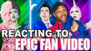 REACTING TO EPIC FAN VIDEO!