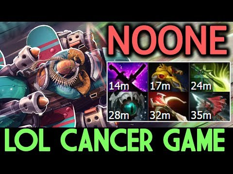 NOONE Dota 2 [Gyrocopter] LOL Cancer Game! Carry 20 Kills