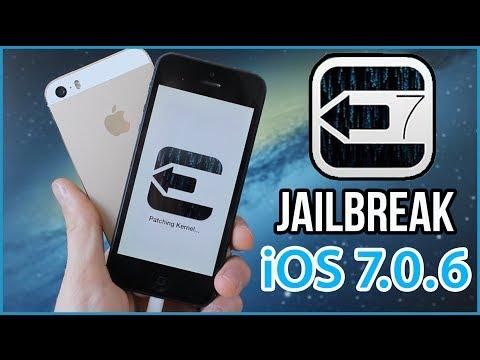 Jailbreak Untethered iOS 7.0.6 pour iPhone. iPod touch et iPad avec Evasi0n7