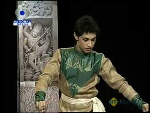 Young Male Kathak Dancer: Avinav Mukherjee video