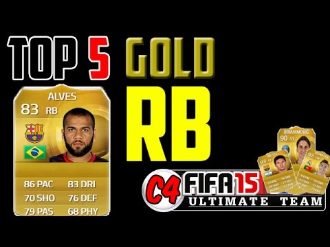 FUT 15 ♦ Top 5 Gold RB ft. Dani Alves | FIFA 15 Ultimate Team