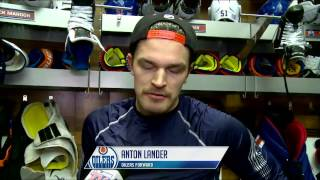 LIVE: Oilers Pre-Game Interviews vs. Rangers