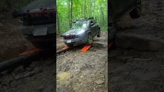 Jeep Cherokee Offroad - Trail 26, MAXTRAX and gas line