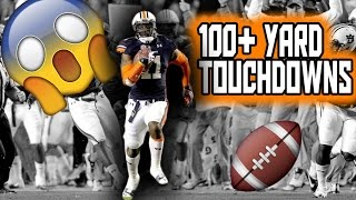 NFL 100+ Yard Touchdowns