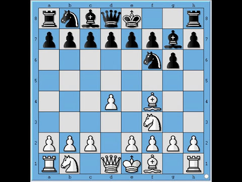Chess opening London System part 2 = Kasparov, dark square Bishop, attacking Queenside, etc.