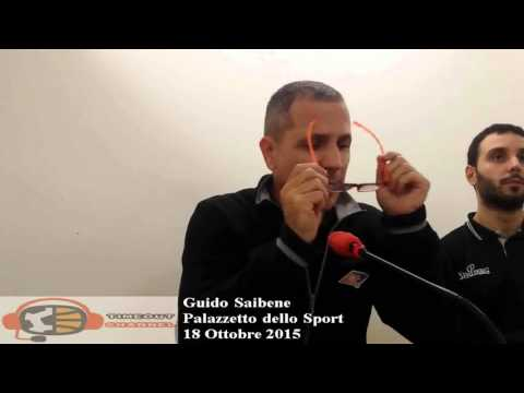 coach Guido Saibene post Roma - Agrigento