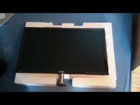 Unboxing Asus VS Serie VS248H 24 Zoll Led Monitor (german)