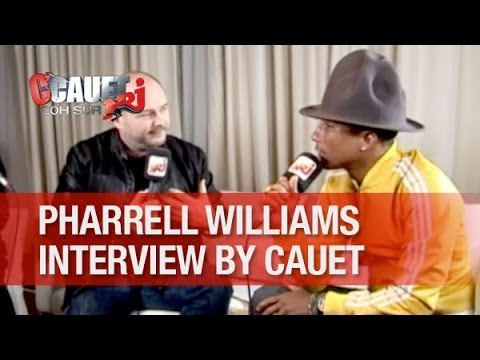 Cauet refait l'album de Pharrell Williams - C'Cauet sur NRJ