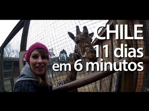 Santiago de Chile, 11 dias em 6 minutos