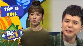 Bố Là Số 1 | Tập 11 FULL: Hari phản pháo khi Trịnh Thăng Bình nói mình ca sĩ Vpop không phải Kpop