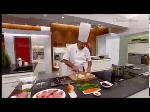 Receta de Conejo al curry con arroz frito de Karlos Arguiñano