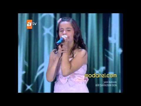 Bir Şarkısın Sen 21.07.2012 | Berna KARAGÖZOĞLU ( fındık kurdu ) - Sevemedim Kara Gözlüm