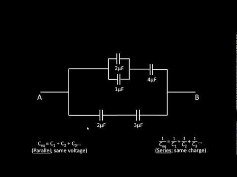 Finding Charge and Voltage Across A Capacitor In Circuit