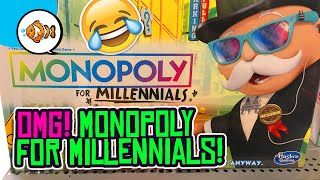 MONOPOLY FOR MILLENNIALS! Hasbro ROASTS Millennials With New Game!
