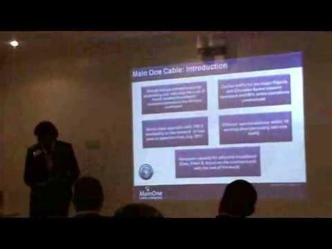 Presentation by Funke Opeke