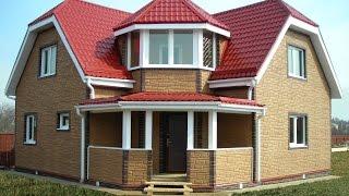 дом из блоков фото