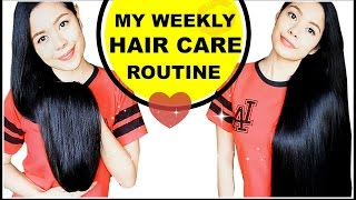 My Weekly Hair Care Routine 2016- Beautyklove