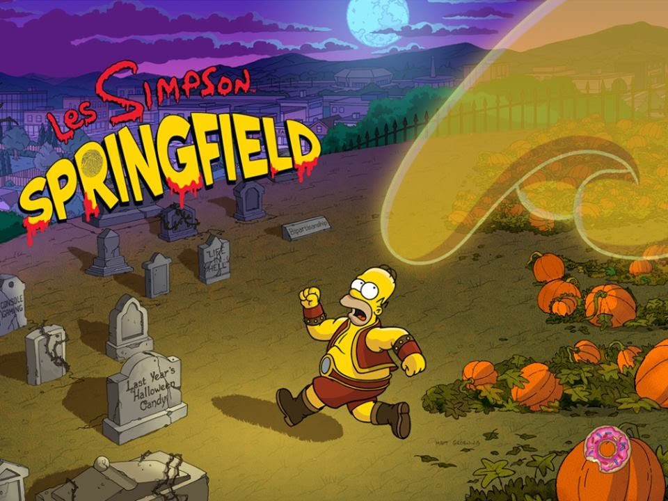 Hack Simpsons Springfield iPhone donuts illimité V4.5.0 ( Halloween