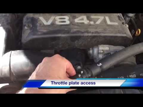 Toyota Tundra Throttle body cleaning