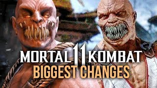Mortal Kombat 11 vs Mortal Kombat 10: BIGGEST CHANGES