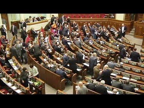 Ukraine parliament votes to disarm illegal self-defence groups