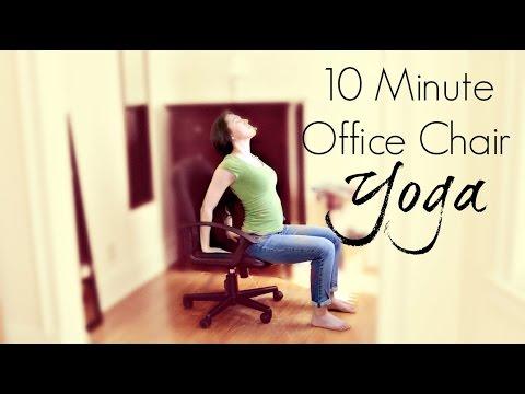 10 Minute Office Chair Yoga | ChriskaYoga