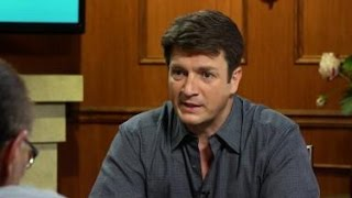 Nathan Fillion: I Learned To Read by Gleaning Meaning From Comic Books   Larry King Now Ora TV