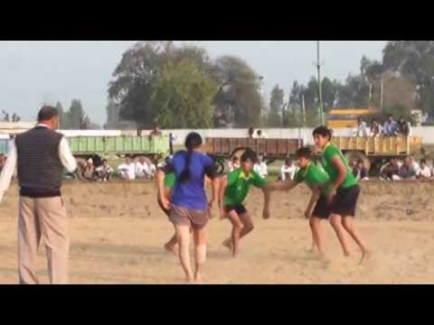 Freestyle Girls Kabaddi Tournament 2013 Match 11 - Full Match video