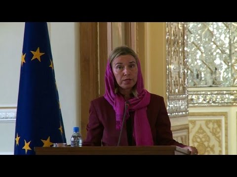 """Mogherini: nuclear deal with Iran a """"new chapter"""""""