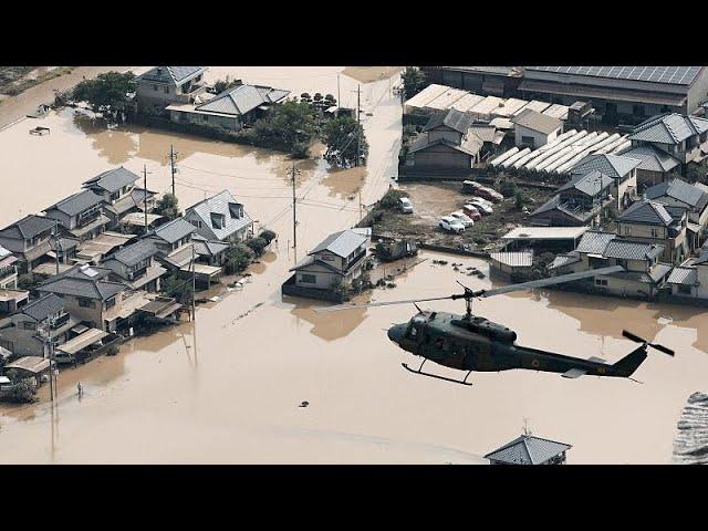 Over 100 killed in Japan's floods, dozens missing