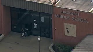 Boy shoots himself at Ohio middle school